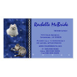 Veterinarian Appointment Business Cards ~ Blue V
