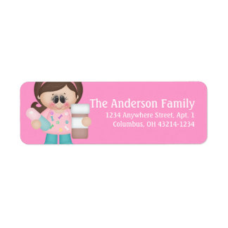 Veterinarian Assistant Tech Return Address Labels
