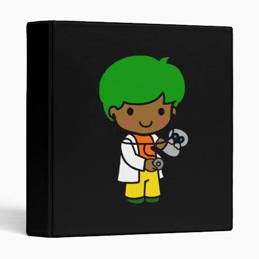 Veterinarian Boy 1 Vinyl Binder