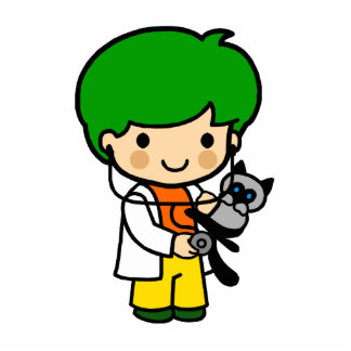 Veterinarian Boy 2 Cutout