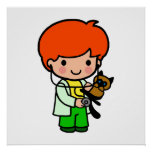 Veterinarian Boy Print