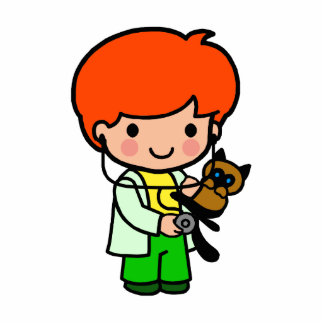 Veterinarian Boy Statuette