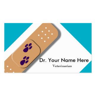 Veterinarian Business Card Template