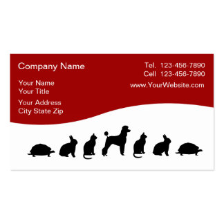 Veterinarian Business Cards