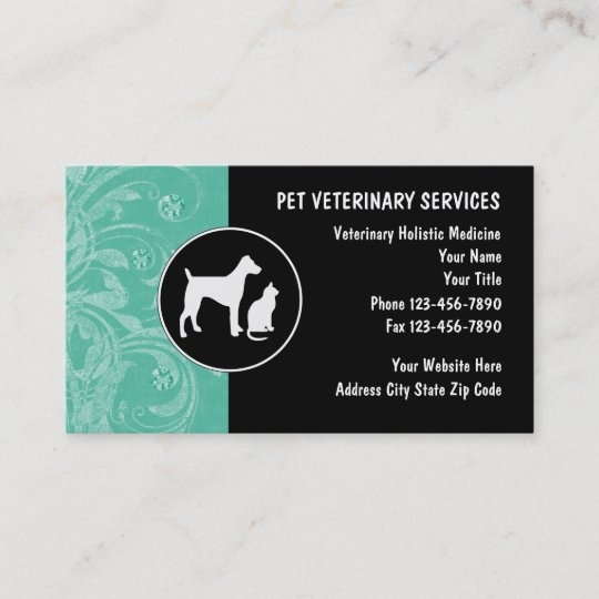 Veterinarian business cards zazzle veterinarian business cards colourmoves