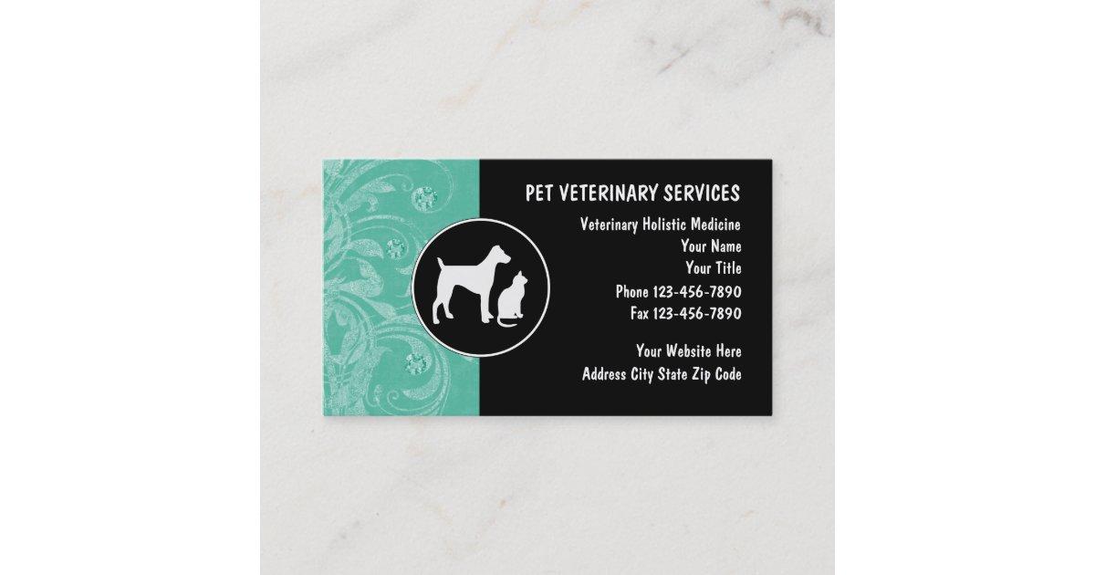 Veterinarian Business Cards | Zazzle.com