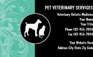 Veterinary business cards zazzle veterinarian business cards colourmoves