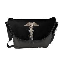 Veterinarian Caduceus Courier Bag