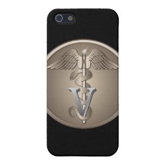 Veterinarian Caduceus iPhone 5/5S Covers