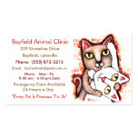 Veterinarian / Cat Lover's Business Cards