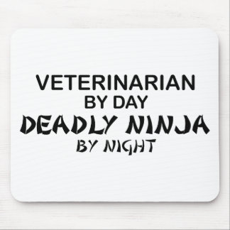 Veterinarian Deadly Ninja Mouse Pad