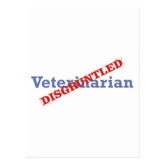 Veterinarian / Disgruntled Postcard