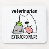Veterinarian Extraordinaire Mouse Pad