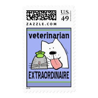Veterinarian Extraordinaire Stamps