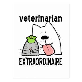 Veterinarian Extraordinaire Postcard