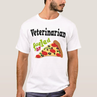 Veterinarian (Funny) Pizza T Shirt