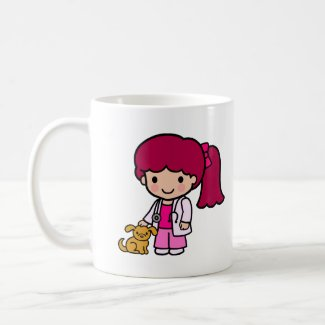 Veterinarian Girl mug
