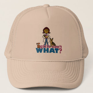 Veterinarian Girl Trucker Hat