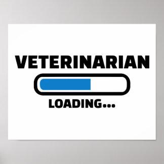 Veterinarian loading poster