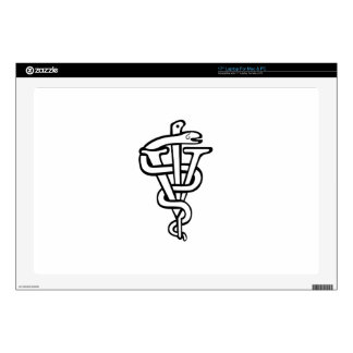 "Veterinarian logo decals for 17"" laptops"