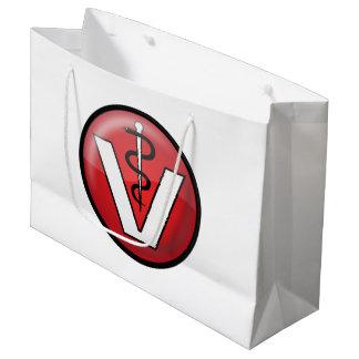 Veterinarian Medical Symbol Large Gift Bag