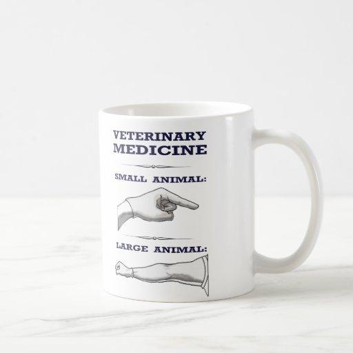 Veterinarian Mug large vs. small animal practice Mugs