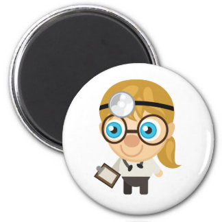Veterinarian - My Conservation Park 2 Inch Round Magnet