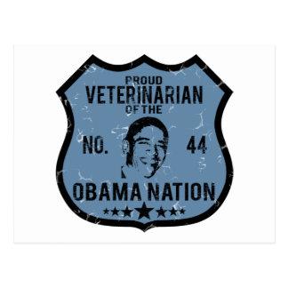 Veterinarian Obama Nation Postcard