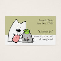 Veterinarian, Pet Care Pro, Customize Business Card