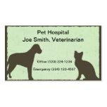 Veterinarian Pet Service Business Card