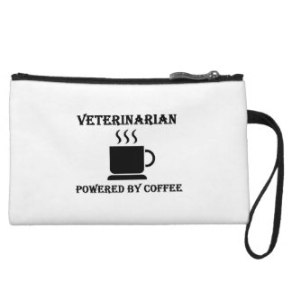 """Veterinarian"" Powered by Coffee Wristlet Purses"