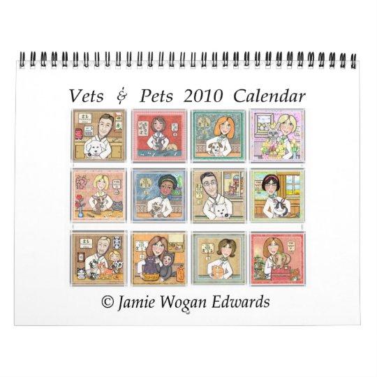 Veterinarian Professional Wall Calendar 2010