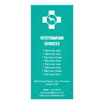 Veterinarian Services rack card