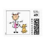 Veterinarian Stick Figure Stamps
