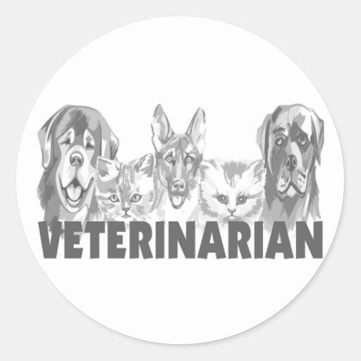 Veterinarian Stickers