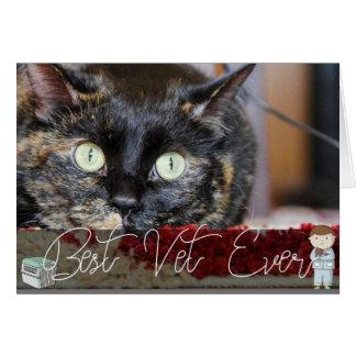 Veterinarian Thank You Custom Pet Photo Card