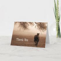 Veterinarian Thank You Sepia Horse