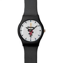 Veterinarian VVV Caduceus Watch