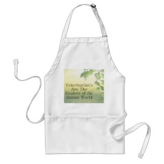 Veterinarians Are Healers Adult Apron