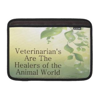 Veterinarians Are Healers MacBook Sleeve