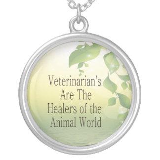 Veterinarians Are Healers Custom Jewelry