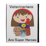 Veterinarians Are Super Heroes Caseable Case iPad Folio Cases