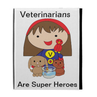Veterinarians Are Super Heroes Caseable Case iPad Case