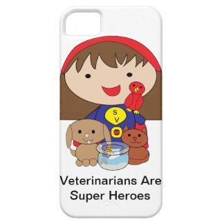 Veterinarians Are Super Heroes iPhone 5 Covers