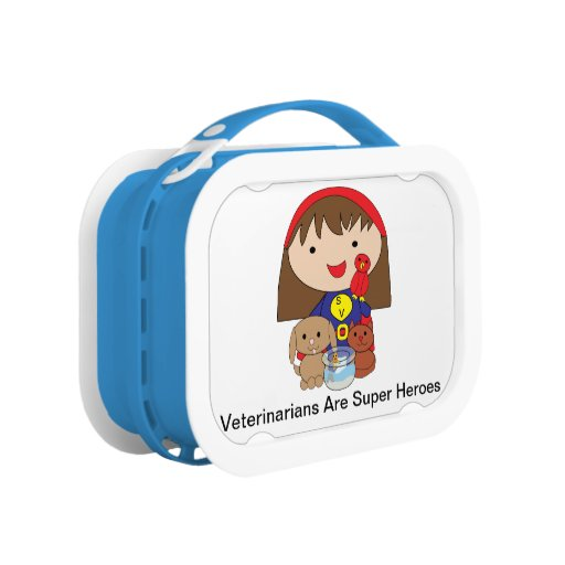 Veterinarians Are Super Heroes Yubo Lunch Box