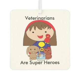 Veterinarians Are Superheroes Air Freshener