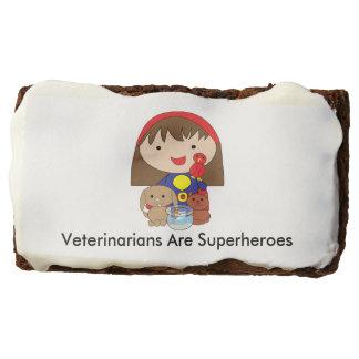 Veterinarians Are Superheroes Chocolate Brownie