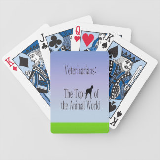 Veterinarians Are The Top Dog Bicycle Playing Cards