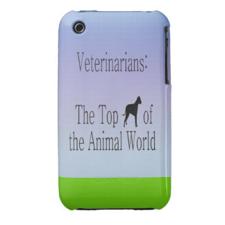 Veterinarians Are The Top Dog iPhone 3 Case-Mate Cases