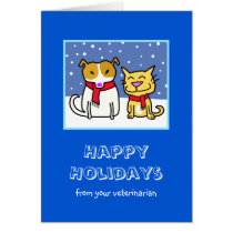 Veterinarian's Holiday Card